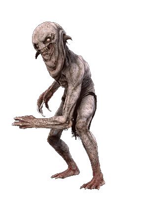 Nekker aus Witcher 3 Wild Hunt Bestiarium