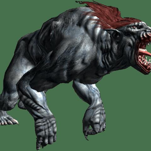 Striege aus Witcher 3 Wild Hunt Bestiarium