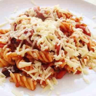 Easy Homemade Tomato Pasta
