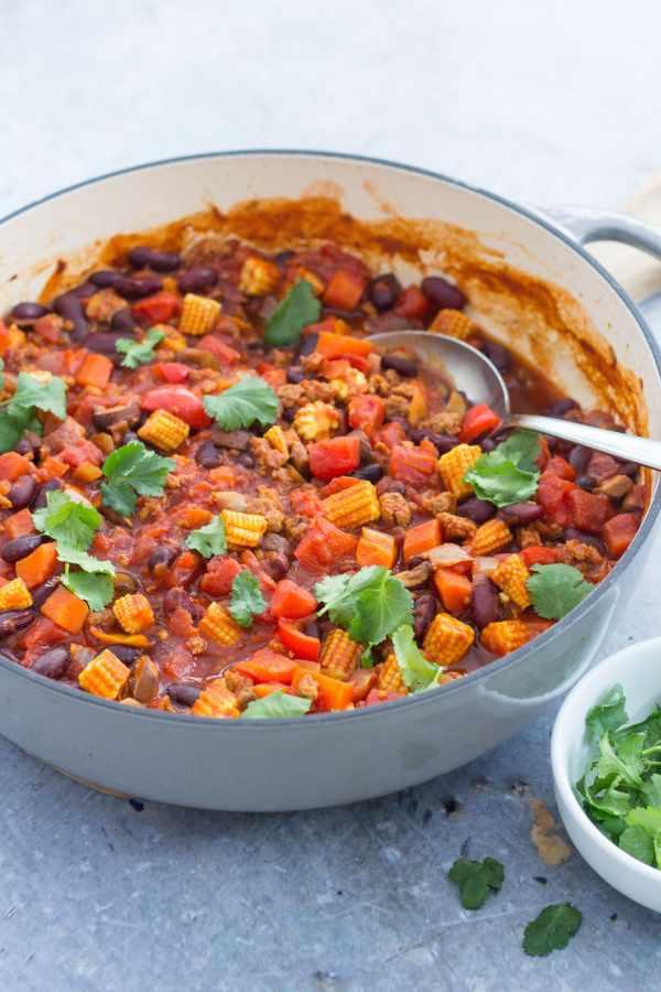 Quorn Chilli Con Carne >> Easy Quorn Chilli Con Carne - Easy Peasy Foodie