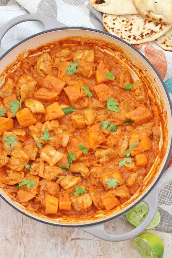 Roast Chicken Leftovers Curry Easy Peasy Foodie