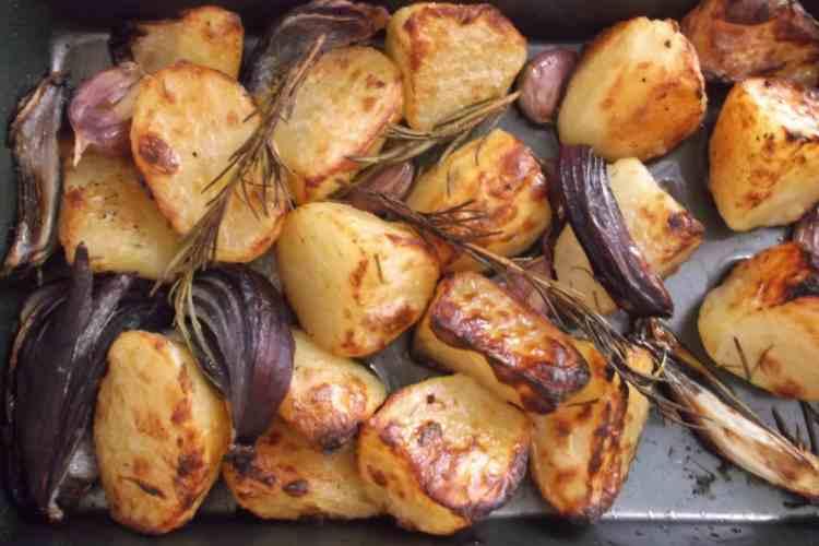 Easy Peasy Roast Potatoes