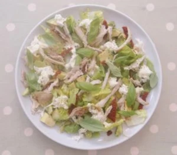 Chicken Mozzerella and Avocado Salad 1