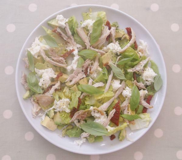 Chicken Mozzerella and Avocado Salad 1