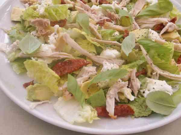 Chicken Mozzerella and Avocado Salad 3