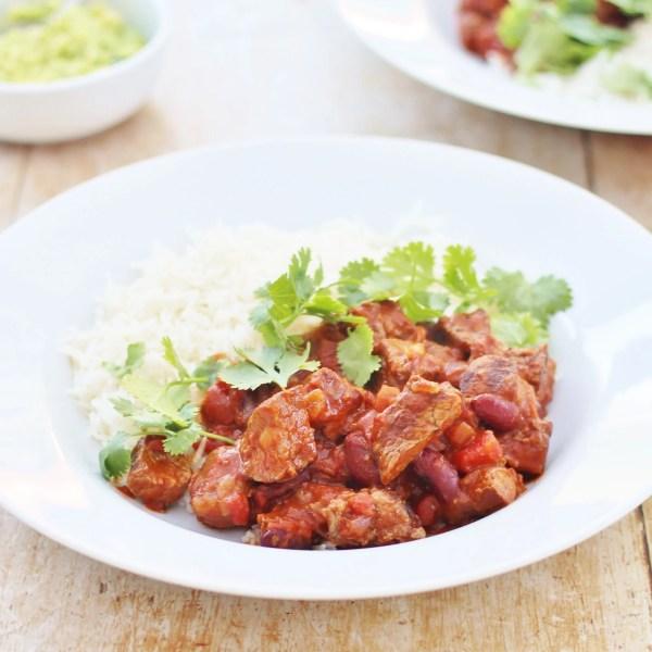 Leftover Roast Beef Chilli Con Carne