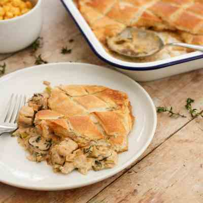 Quorn Chicken Pie