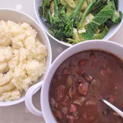 Beef Bourguignon Stew