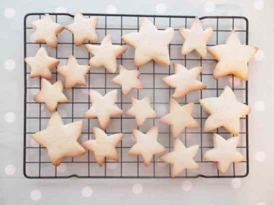 Easy Peasy Christmas Star Biscuits 1