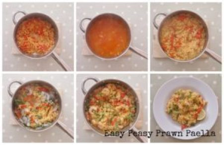 Easy Peasy Prawn Paella Step by Step