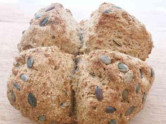 Pumpkin Seed and Rye Bread 4