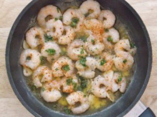 Spanish Garlic Prawns 4