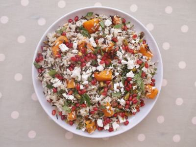 Warm Christmas Rice Salad 6