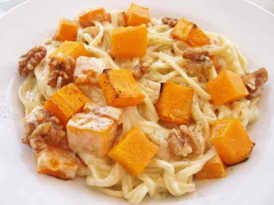 Stilton Squash and Walnut Pasta 2