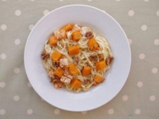 Stilton Squash and Walnut Pasta 4