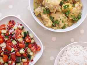 Chicken, Preserved Lemon and Olive Tagine from Persiana