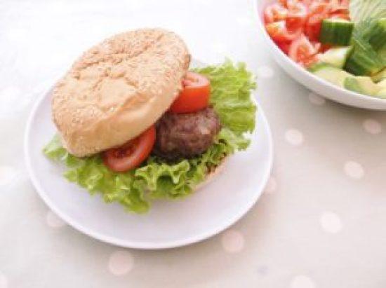 Easy Peasy Beef Burger