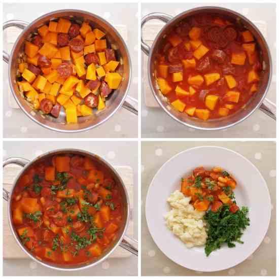 Chorizo and Butternut Squash Stew
