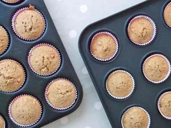 Coffee and Walnut Cupcakes