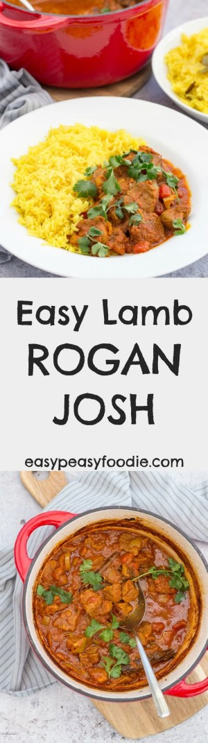 Lamb Rogan Josh is definitely one of my favourite curries, whether I'm making it at home or getting it in takeaway form.I love the vibrant mix of spices and the melt-in-your mouth lamb, but I also love it because it is really simple to make - or at least my version is! #lamb #roganjosh #lambrogan #lambroganjosh #lambcurry #easydinners #midweekmeals #familydinners #easypeasyfoodie
