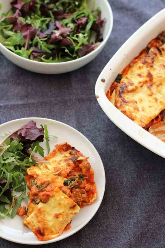 Mary Berry Express Lasagne