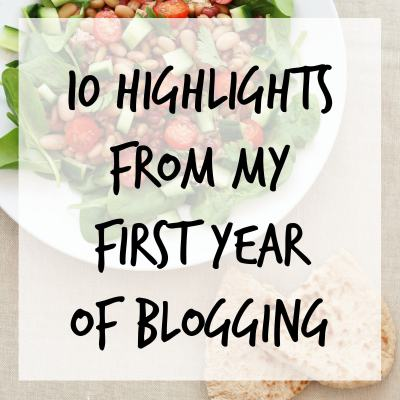 10 highlights from my first year of blogging