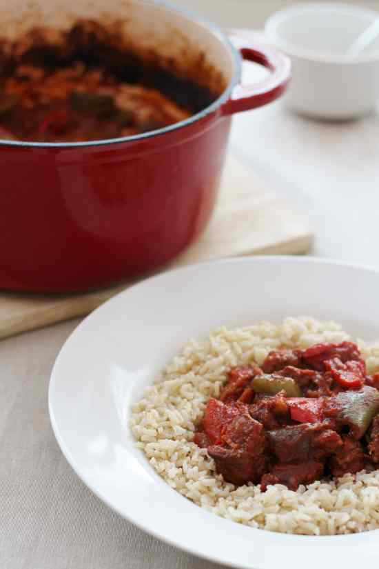Hungarian Beef Goulash no garnishes