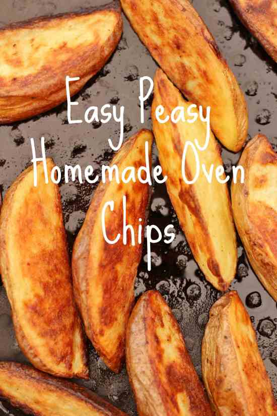 how to make homemade oven chips