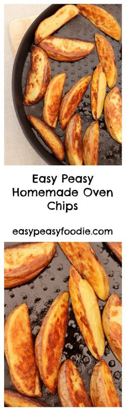 Easy Peasy Homemade Oven Chips