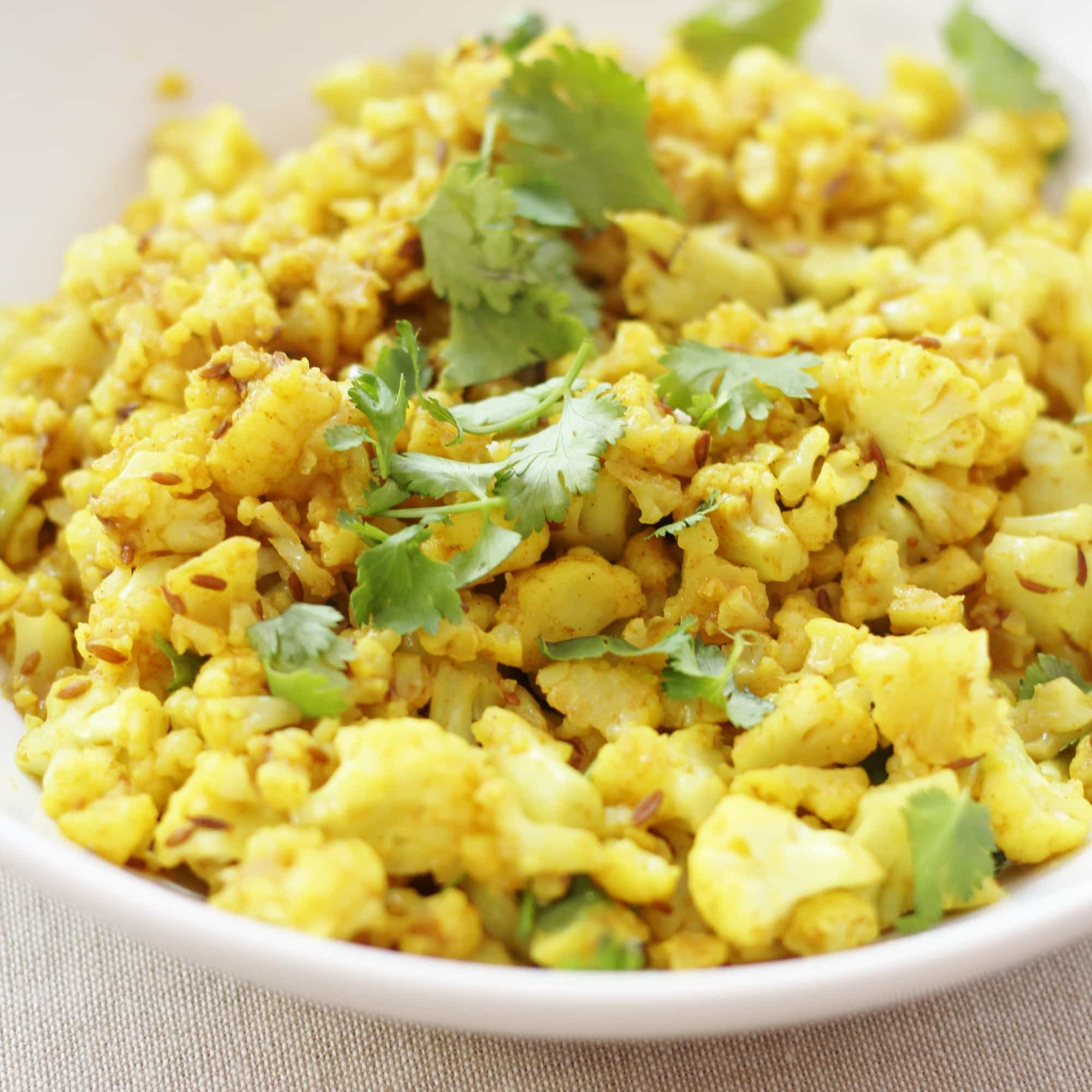 Indian spiced cauliflower rice easy peasy foodie indian spiced cauliflower rice forumfinder Images