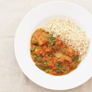 Lamb and Spinach Curry from Ready Steady Glow by Madeleine Shaw