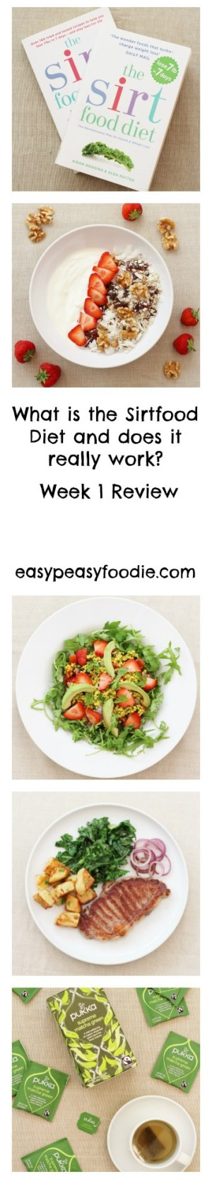 What is the Sirtfood Diet and does it really work? Week 1 Review