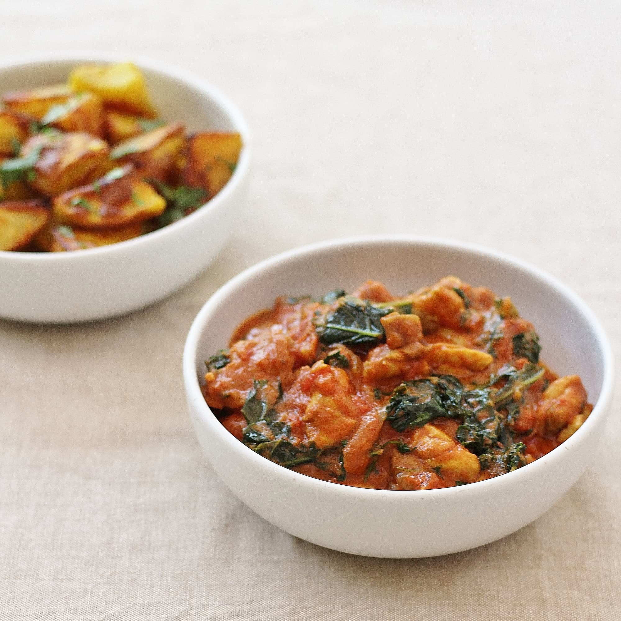 What is the sirtfood diet and does it really work part 3 easy chicken and kale curry with bombay potatoes from the sirtfood diet forumfinder Choice Image