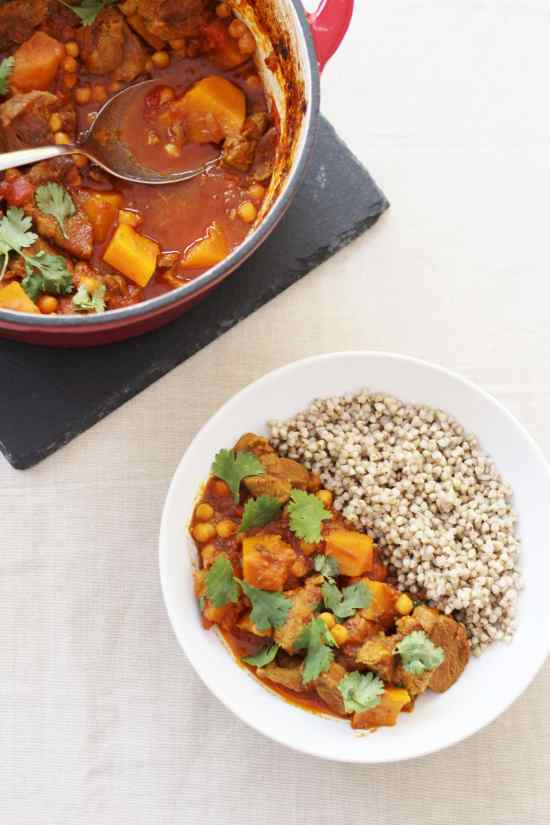 Lamb, Butternut Squash and Date Tagine