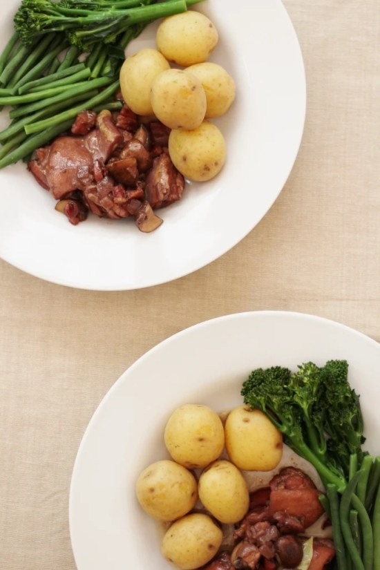 Easy Peasy Coq au Vin