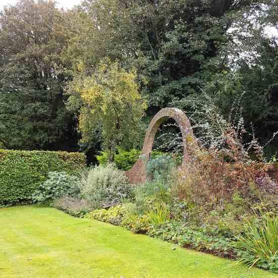 The Garden at All Hallows Farmhouse