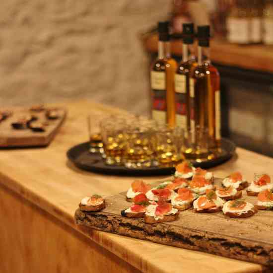 Aperitifs and Canapes at the River Cottage