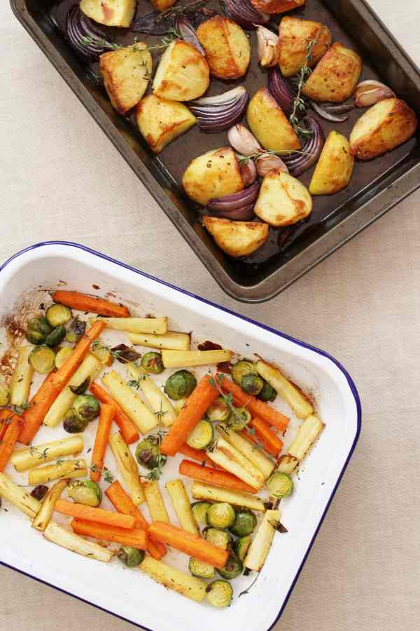 Easy Roast Christmas Vegetables