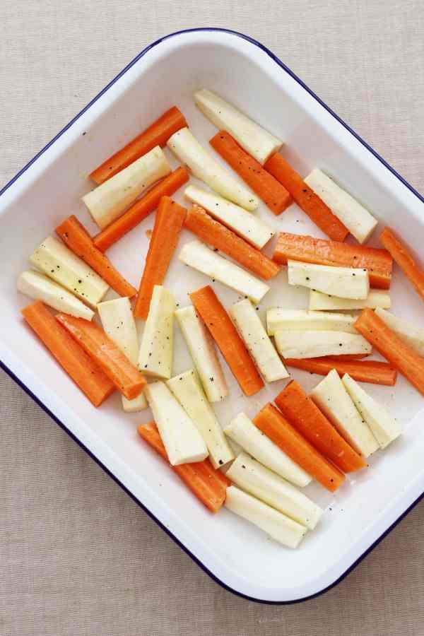 Easy Christmas Roast Vegetables
