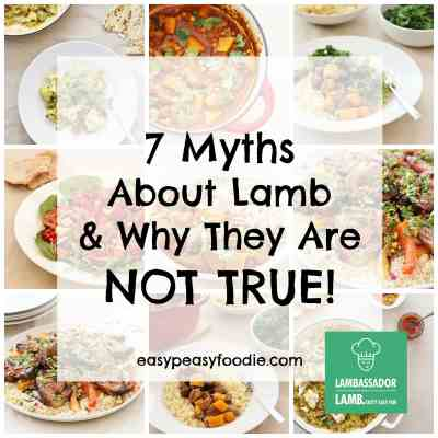7 myths about lamb and why they are not true (plus an exciting announcement!)