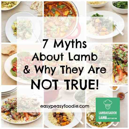 7 Myths about lamb and why they are not true