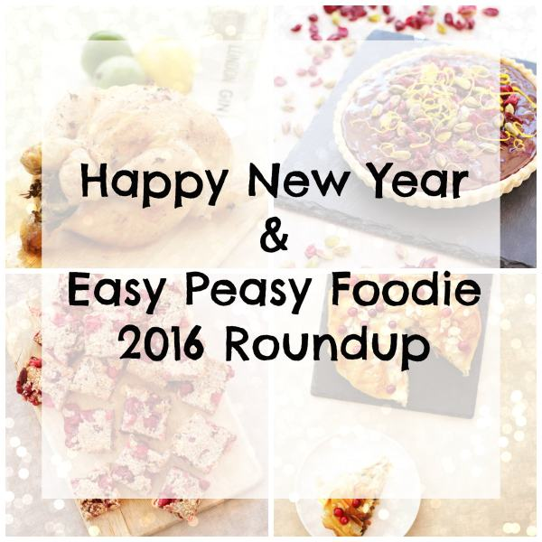 Happy New Year!! Find out how I did against my 2016 goals and what I have planned for Easy Peasy Foodie in 2017.