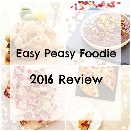 Easy Peasy Foodie 2016 Review