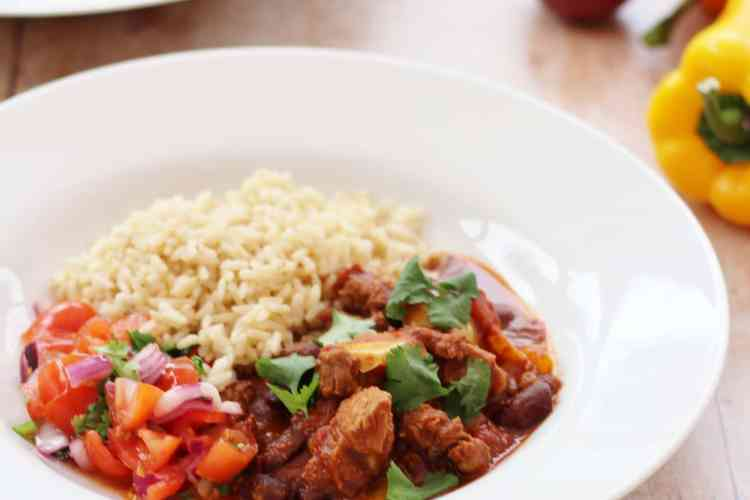 Spicy Mexican Lamb Stew
