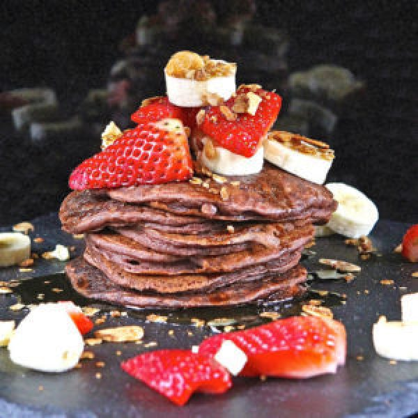 Beetroot Buttermilk Pancakes
