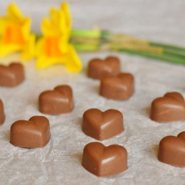 Homemade Hazelnut Noisette Chocolates for Mother's Day