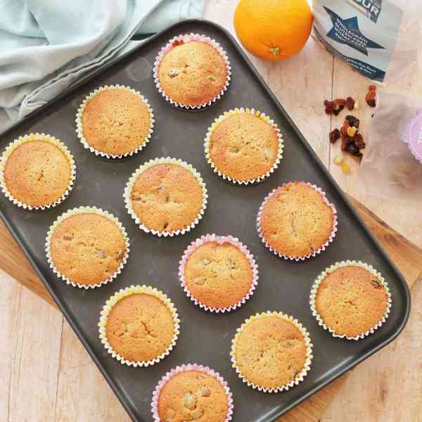 Gluten Free Simnel Cupcakes