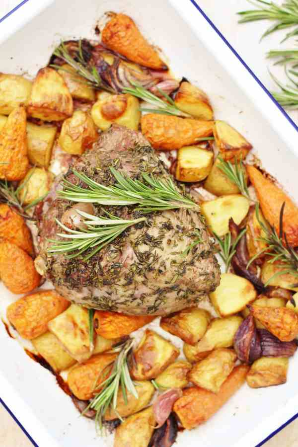 Herb Crusted Lamb Mini Roast