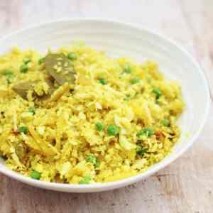 Pilau Cauliflower Rice (Vegan)