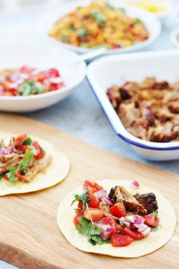 Mexican Pulled Pork Tacos